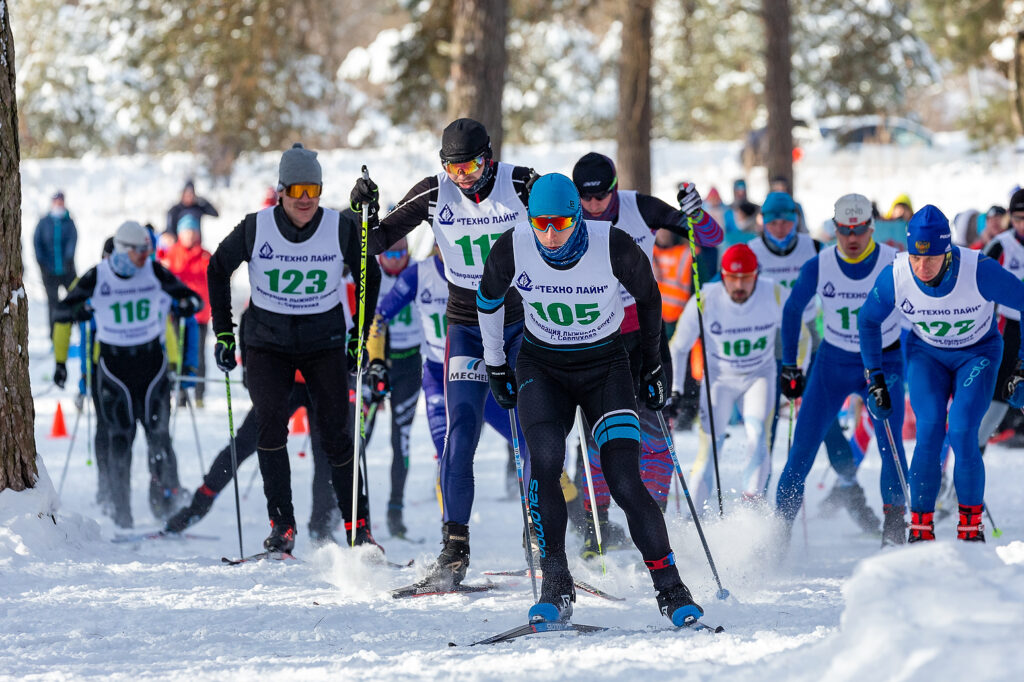 Морозная гонка памяти Н.Гончарова 07.02.2021
